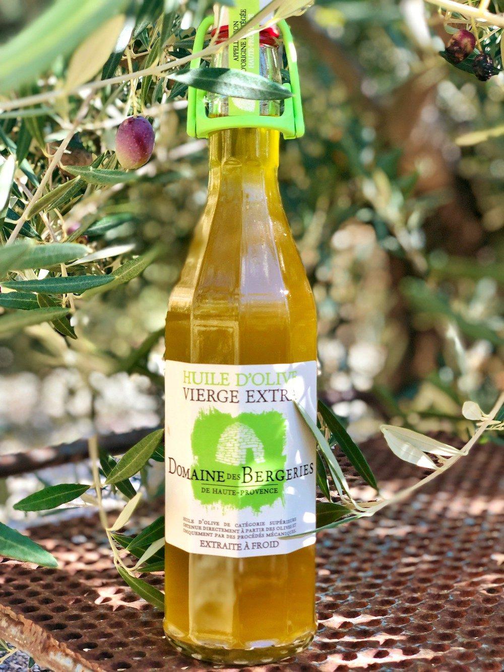 Bouteille huile d'olive copie